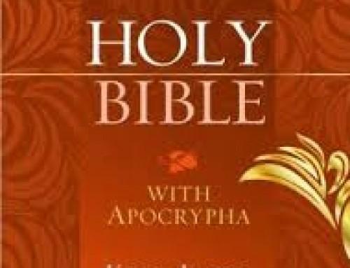 KJV with Apocrypha
