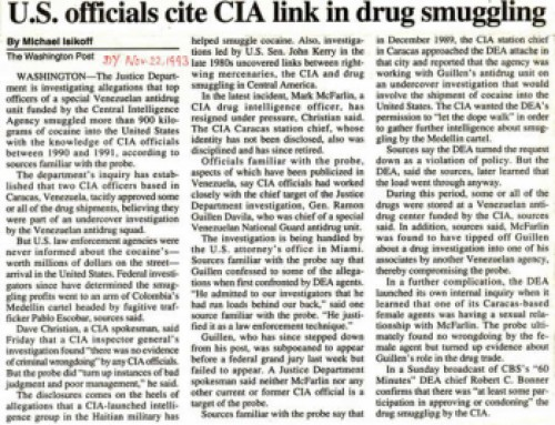 CIA Drug Ops Conspiracy : (Unaired Documentary)